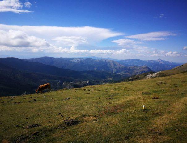 Basque Country mountains