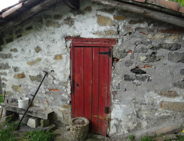 Sheepred house