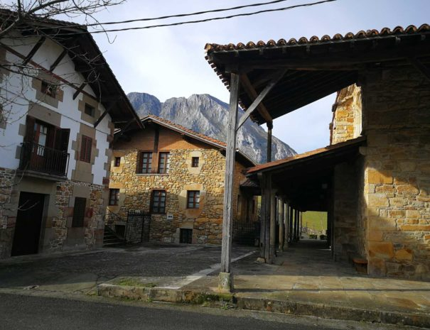 Tradicional Basque houses