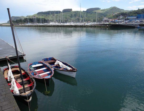 Zumaia Boats
