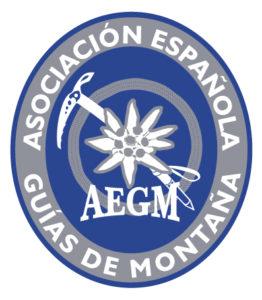 Logo asociacion española guías de montaña